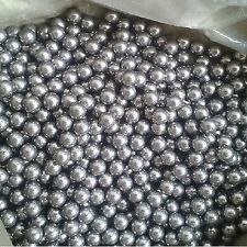 85Pcs 6mm Mini Durable Carbon Steel Balls Mirror Polish Bike Bearing Slingshot