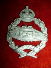 Canadian RCAC Armoured Corps KC Cap Badge, Canada WW2