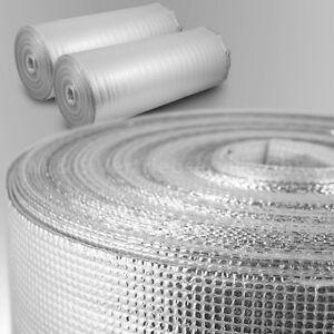 Trittschalldämmung ALU Dampfsperre PE-Schaumfolie Dämmunterlage Laminat 2mm 3mm