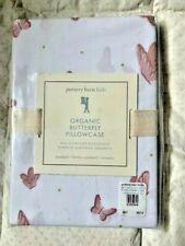 Pottery Barn Kids - Organic Butterfly Standard Pillow Case - Blush Pink New