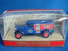 MATCHBOX MODELS OF YESTERYEAR Y12  - GMC VAN - GOANNA -