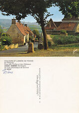 1980's PANORAMA OF DOMME DORDOGNE FRANCE UNPOSTED COLOUR POSTCARD