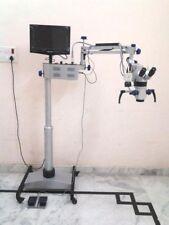 Ent Operating Microscope 5 Step LCD Camera Motorized Lab & Dental