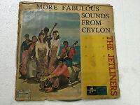 THE JETLINERS FABULOUS SOUNDS CEYLON '60 Freakbeat psych garage LP SRI LANKA VG-