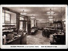"""PARIS I° / Maison d'ALIMENTATION """"PRUNIER"""" BAR de DEGUSTATION vers 1930"""