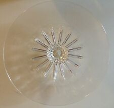 "LARGE  15/5"" SIGNED STEUBEN SUNFLOWER BOWL PLATTER CENTER PIECE"