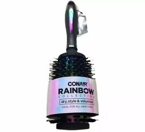 Conair Rainbow Collection Large Thermal Round Brush,  Volumize item #86729
