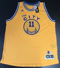 eaa459117 adidas Golden State Warriors Klay Thompson Swingman The City Jersey Size  XXL 2xl