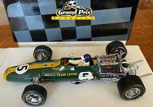 1:18 EXOTO 1967 LOTUS FORD TYPE 49 #5 JIM CLARK WINNER DUTCH GP World Champ