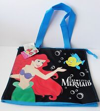 Disney Princess - The Little Mermaid Ariel & Flounder Zippered Shopper Tote Bag