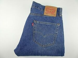 "VGC* LEVIS 505 Mens Jeans Regular Straight Blue Denim W34 L29 Waist 34"" Leg 29"""