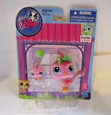 Littlest Pet Shop LPS Mommy and Baby #3603 Bird and #3604 Baby Bird