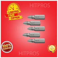 Hilti S-B Ph2 25/1� S Tek Insert Bits, 100 Units,Fast Shipping