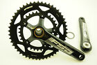 FSA GOSSAMER BB386 EVO COMPACT DOUBLE CHAINWHEEL CHAINSET 50/34 172.5mm 50% OFF