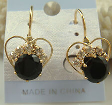 New Fashion 1pair Women Lady Elegant Crystal Rhinestone Ear Stud Earrings s20A