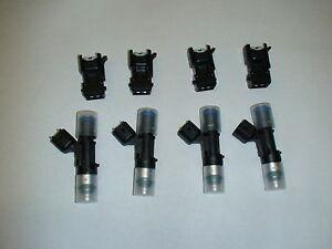 4 Bosch EV14 60lb 630cc Carburant Injecteurs Honda Audi VW de Mazda Ford Dodge