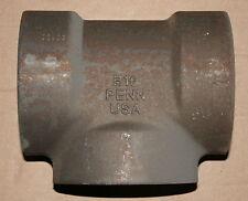 "4"" 6000# Forged Steel Socket Weld Tee"