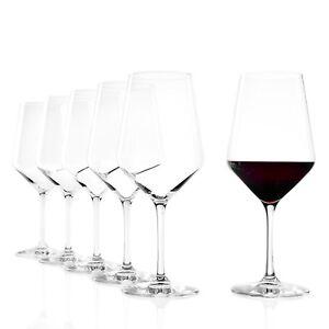 Stölzle Bordeaux Glas Revolution 650ml 6er Set Weinglas Rotweingläser Weinballon
