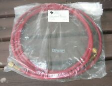 NEW CAR AIR CONDITIONER HOSE WITH BRASS FITTINGS - ISC SYSTEMS MADE IN ITALY
