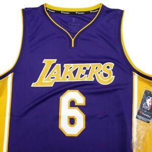 Fanatics Jordan Clarkson #6 NBA Los Angeles Lakers Jersey Purple Mens Size M