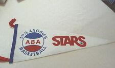 LA Stars American Basketball Association pennant em