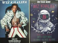 WIZ KHALIFA 2012 o.n.i.f.c. 2 SIDED promotional POSTER MINT condition NEW stock