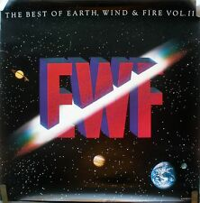 EARTH WIND & FIRE BEST VOL 2 1988 VINTAGE ORIG MUSIC RECORD STORE PROMO POSTER