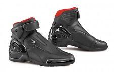Moto stivali scarpe adulto minimoto NOVO 2 art.776 GIANNI FALCO nero n°41