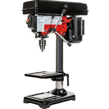 """8"""" Electric Drill Press with Laser 5 Speed Guide Stationary Power Tools Wood"""