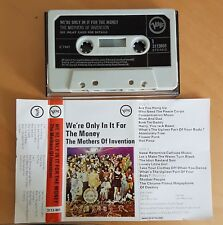 "FRANK ZAPPA/MOTHERS-""MEGA RARE"" TAPE-UK ISSUE OF WE'RE ONLY IN IT FOR THE MONEY"