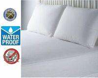 fabric zippered mattress cover waterproof bed bug mite protector full king size