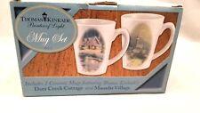Thomas Kinkade Collectible Limited Edition Coffee Mug Set #9173