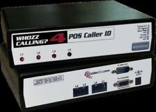 Whozz Calling? Inbound Outbound Multiline Caller ID Aldelo Deluxe 4 Lines NEW