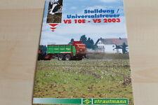 140498) BSL Strautmann Stalldung / Universalstreuer Prospekt 200?