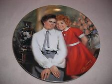 """Annie And Grace"" Collectible Plate- Edwin Knowles"