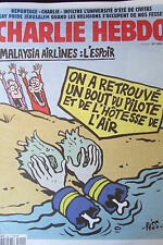 Charlie Hebdo no 1202 August 2015 riss malaysia airlines plane crash l hope