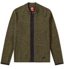 Nike Tech Knit Bomber Jacket (Dark Loden) - Large-NUOVO ~ 810558 347