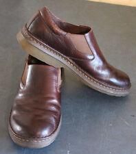 Dr. Martens Robson Orson Plain Toe Slip On LOAFER BROWN LEATHER Shoe size US 11M