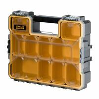 Stanley FatMax Multi Tool Drill Bits Organiser Storage Box Stackable Carry Case