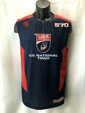 USA NATIONAL FOOTBALL TEAM Men's X-Large Sleeveless Muscle Compression Shirt XL
