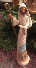 Joseph Hawthorne Village Thomas Kinkade Elegant blessings nativity Excellent