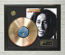 "Bob Marley Framed wood Legends Of Music LP Record Display. ""C3"""
