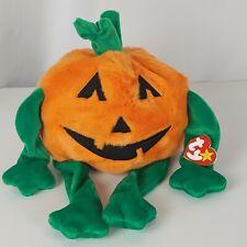 Ty Beanie Buddies Pumkin Halloween Jack o lantern