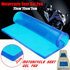 DIY Modified 2cm Thickness Gel Pad Motorcycle Seat Cushion damping pad 25x25cm