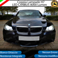 KIT FULL LED BMW SERIE 3 E90 E91 LED H7 6500K 8000 LM XENON CANBUS NO ERROR