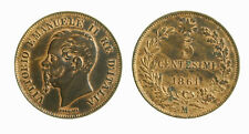 s283_12)  Vittorio Emanuele II (1861-1878)  5 Centesimi 1861 Mi