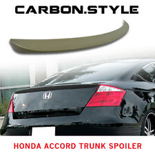 Painted For Honda Accord Coupe 2D OE Style Rear Trunk Spoiler Wing ABS 08-12