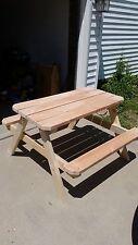 4 foot kids picnic table