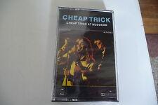 CHEAP TRICK AT BUDOKAN CASSETTE K7 AUDIO NEUF.AUDIO TAPE EPIC 40-86083.