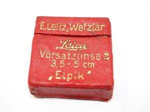 Leica Elpik Close Up Filter for 50mm f3.5 Elmar